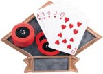 Poker Diamond Plate Resin  Diamond Plate Resin Trophy Awards