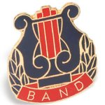 Band Chenille Pin Lapel Pins