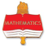 Mathematics Lapel Pin Lapel Pins