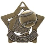 Baseball Star Star Medal Awards