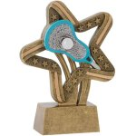 Lacrosse Stars & Stripes Stars & Stripes Resin Trophy Awards
