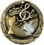 Music Tri-Colored Medal Awards