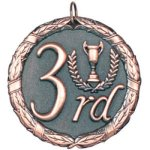 3rd Place Bronze XR Series Medal Awards